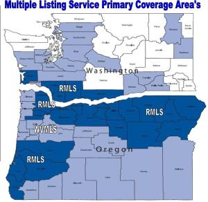 MLS Coverage Area's